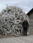 Random antler pile. Old Cody Townsite - Cody, Wyoming