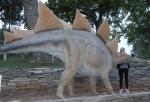 Thermopolis, Wyoming - Jen found an extinct friend
