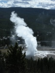 Old Faithful from The Overlook