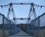 Suspension Bridge, Thermopolis, Wyoming