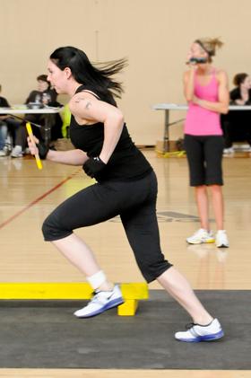 Jen the sprinter!