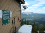 Ranger station @ the summit