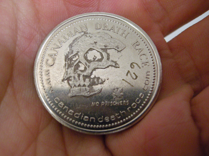 The very important Death Race coin