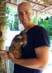 Jamie & Corey the sloth