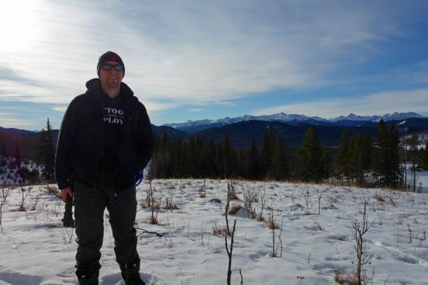 Jamie in Sheep River Provincial Park