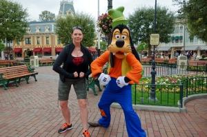 Jen & Goofy