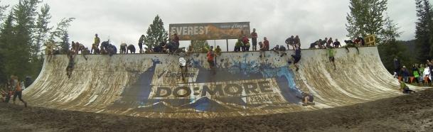Dan conquering Everest