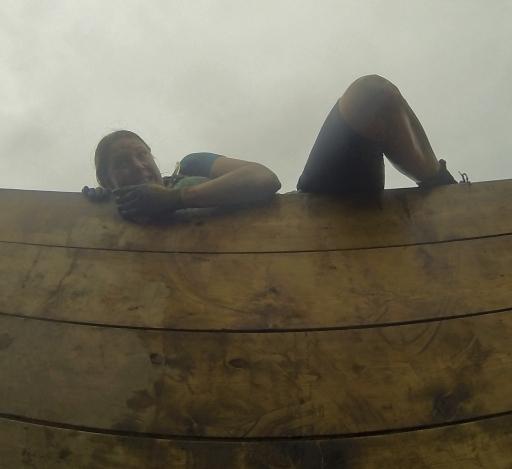 Jen does not bode well on Berlin Wall